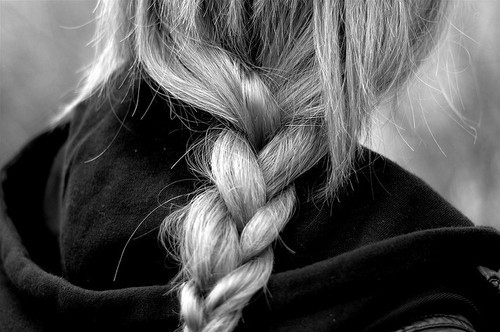 black-and-white-braided-fashion-hair-photography-Favim.com-127455